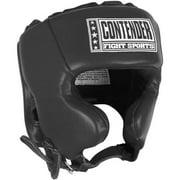 Contender Fight Sports Competition Headgear Medium Black