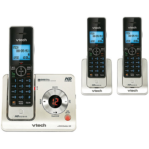 Vtech LS6425-3 3 Handset Cordless Answering System