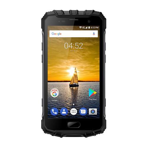 Ulefone Armor 2 5.0 Inch Android 7.0 Unlocked Smartphone -Waterproof Shockproof Dustproof MT6753 64Bit Octa core 1.3GHz 6GB RAM + 64GB ROM 16MP / 13MP Camera 4G Dual SIM Mobile Phone Gray