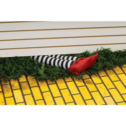 Wicked Witch Legs Halloween Prop