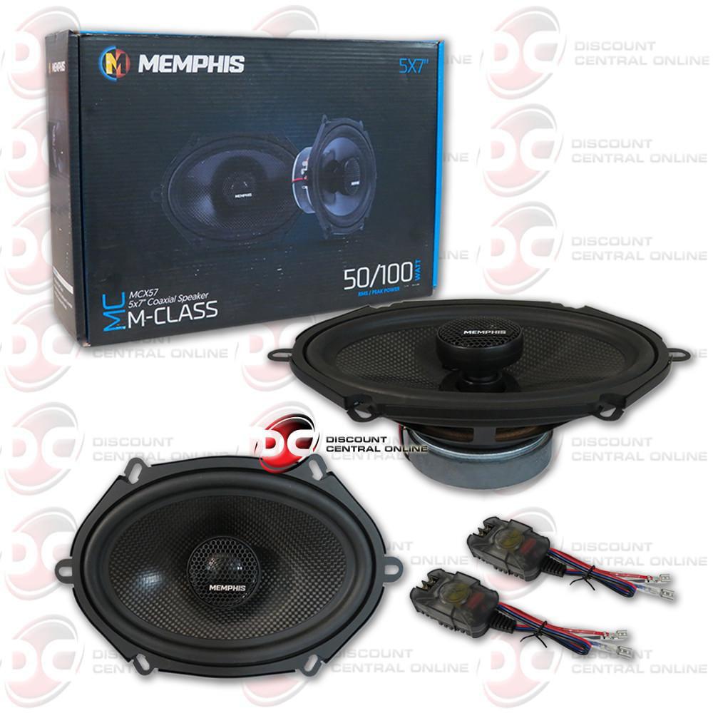 Memphis Audio 15-MCX6 MClass Series 6-1//2 2-way car speakers