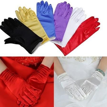 Short White Gloves (9
