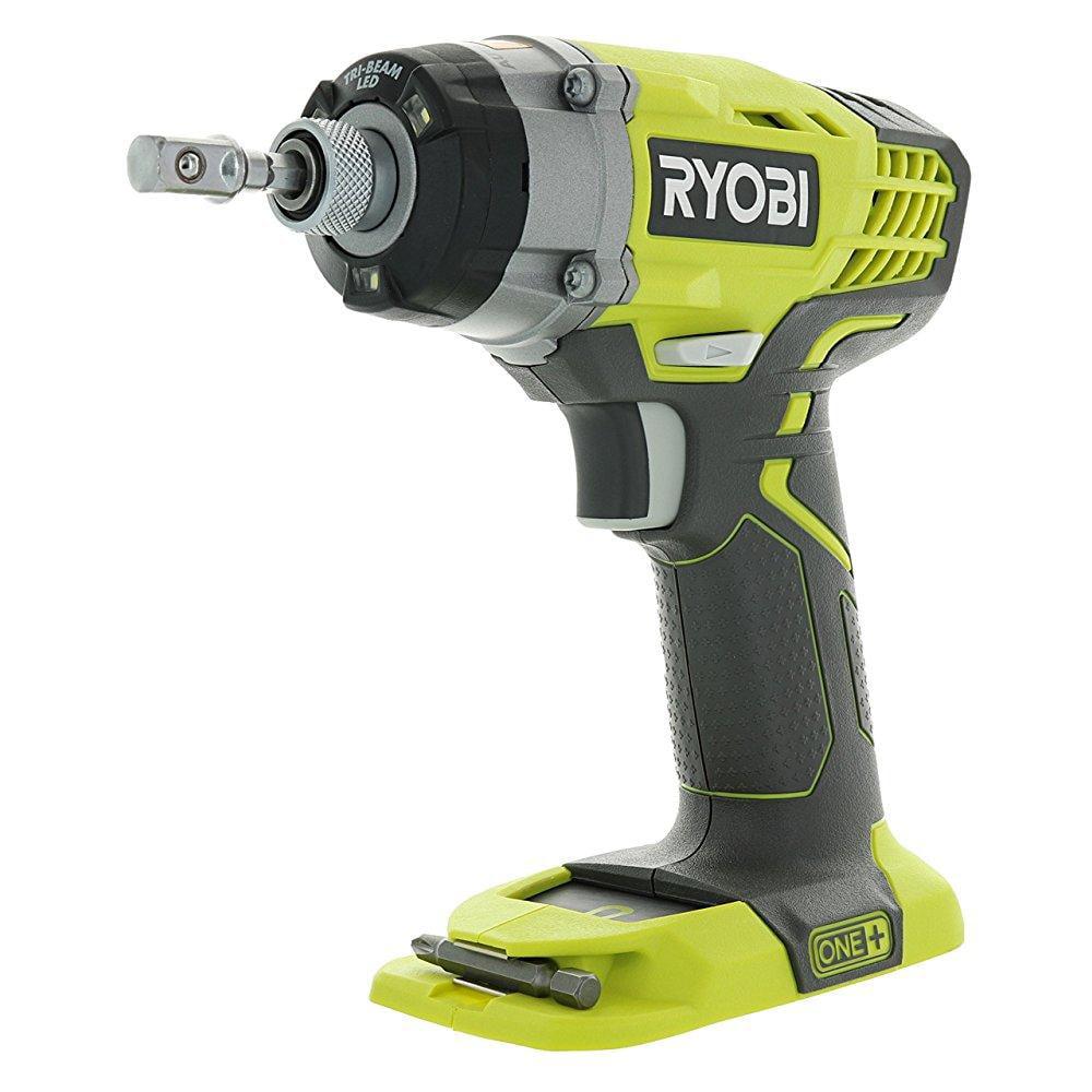 Ryobi one+ p236 18v 1/4 inch 3,200 rpm 1,600 inch pounds ...