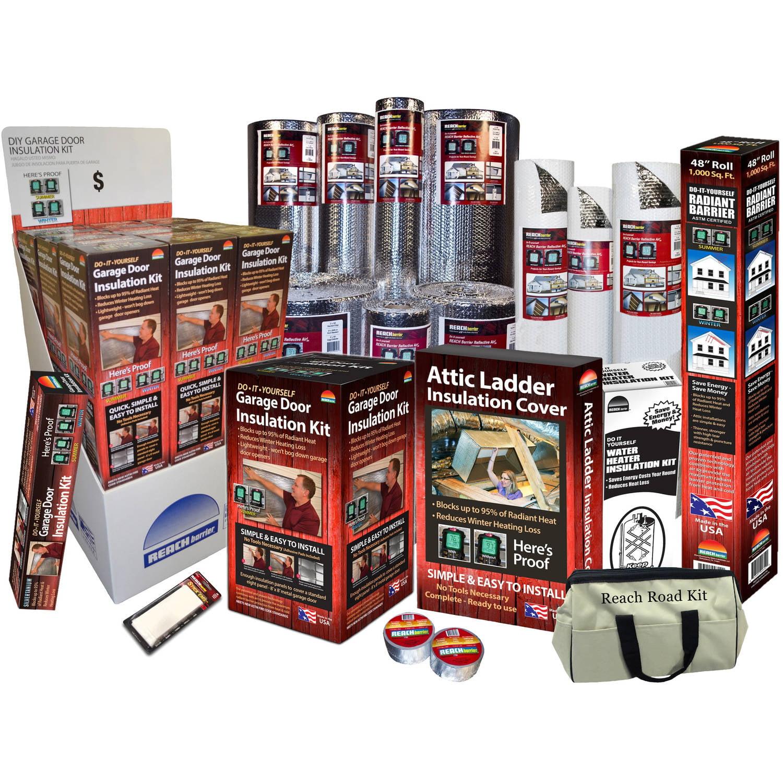 Reach barrier 3009 garage door insulation kit walmart solutioingenieria Choice Image