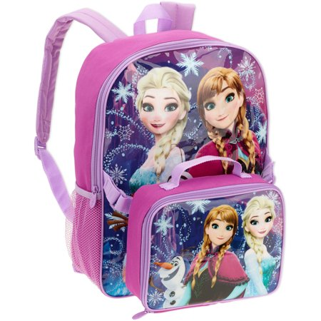 663943dbe40 Frozen Backpack with Lunch Box - Walmart.com