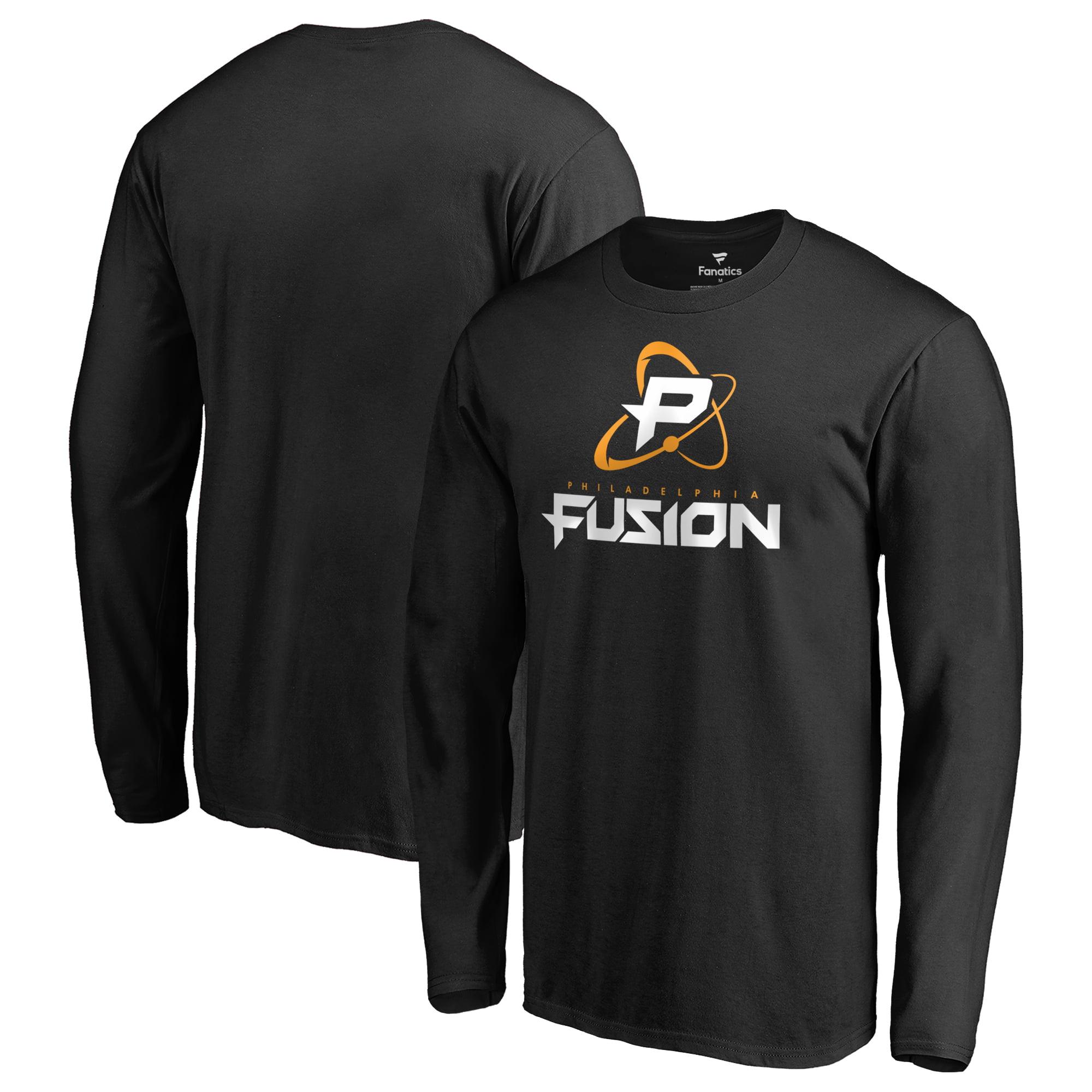 Philadelphia Fusion Fanatics Branded Team Identity Long Sleeve T-Shirt - Black