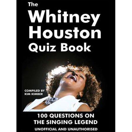 The Whitney Houston Quiz Book - eBook (Kim Burrell Bet Honors 2010 Whitney Houston)