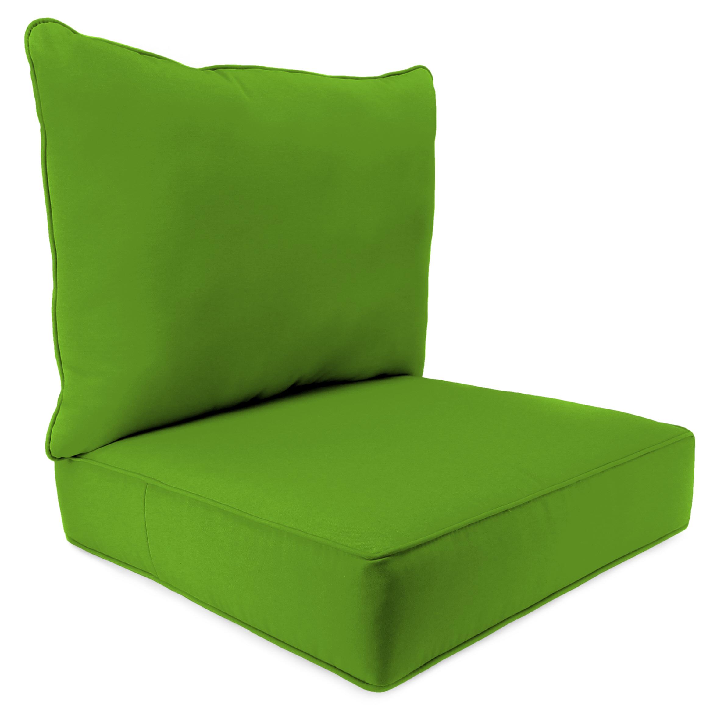 2 PC Deep Seat Chair Cushion