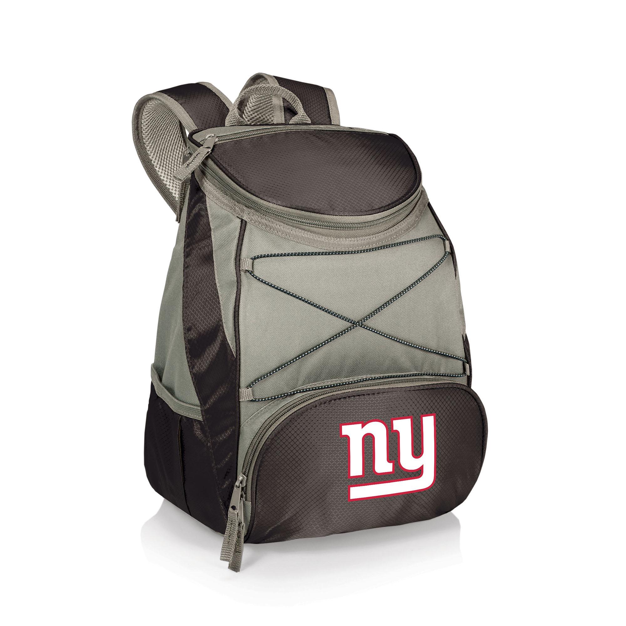 New York Giants PTX Backpack Cooler - Black - No Size