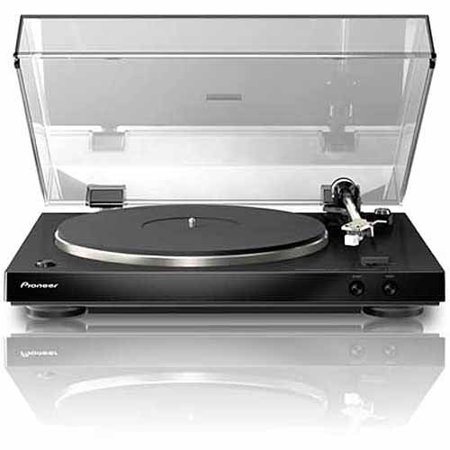 Pioneer PL-30-K Audiophile Stereo Turntable with Dual-Layered Chassis and Built-In Phono Equalizer by