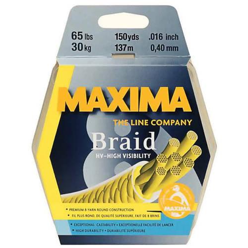 Click here to buy Maxima Braid 8 Fishing Line, 300-Yard Spool by Maxima.