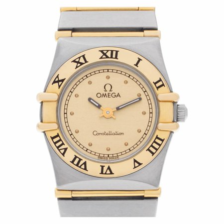 Pre-Owned Omega Constellation 7951243 Steel Women Watch (Certified Authentic & Warranty)