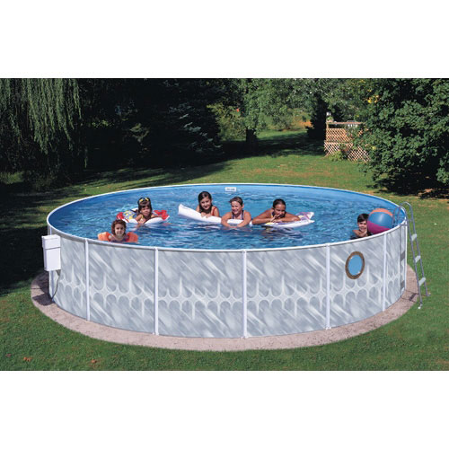 "Heritage Round 12' x 42"" Above Ground Swimming Pool by Above Ground Pools"