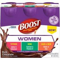 Boost Women Nutritional Drink, Rich Chocolate, 8 Fl Oz, 6 Count
