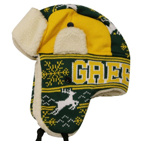 City Hunter W700 Snow Deer Trapper Hat Green - Party City Green Bay Wi