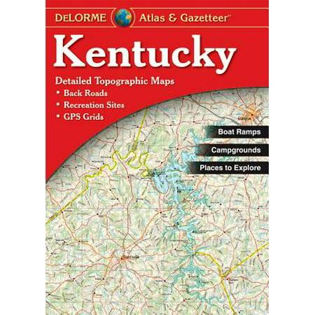 - Kentucky - Delorme 2nd: 9780899333403