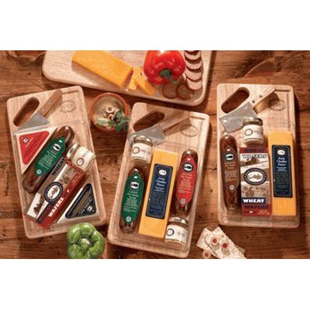 Gourmet Meat and Cheese Gift Set | Wisconsin Cheese and More | Great Holiday Gift