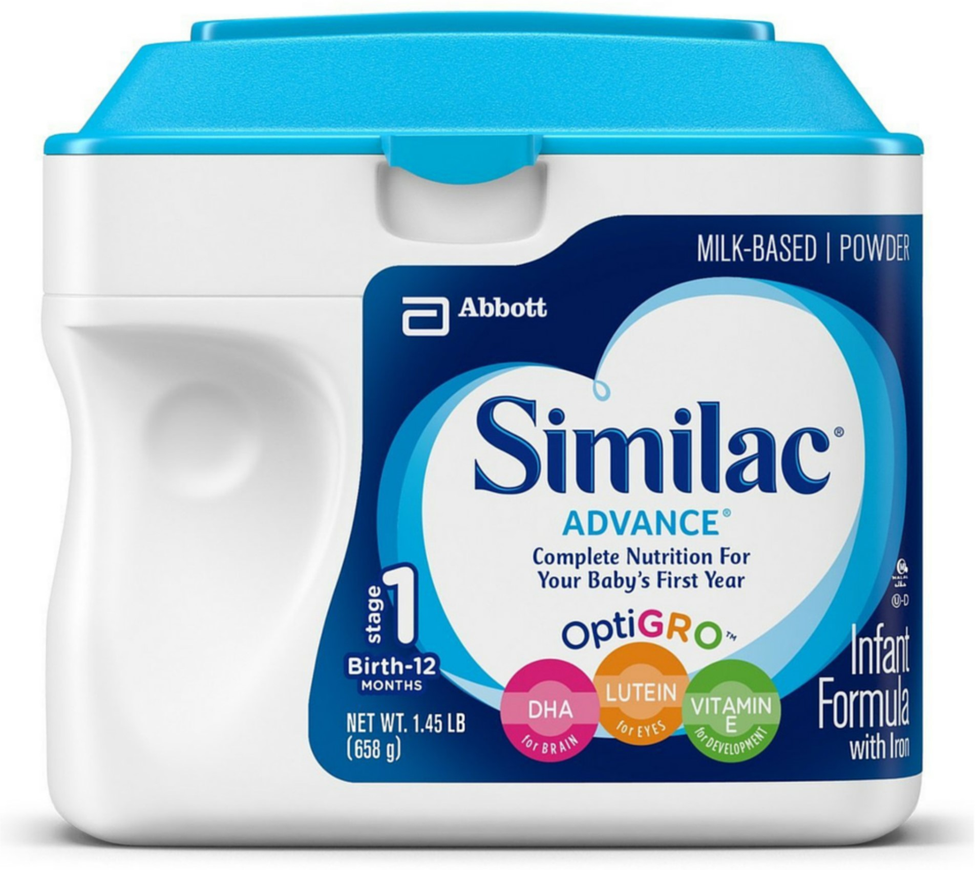 Similac Advance EarlyShield Powder With Iron 23.20 oz (Pack of 4)