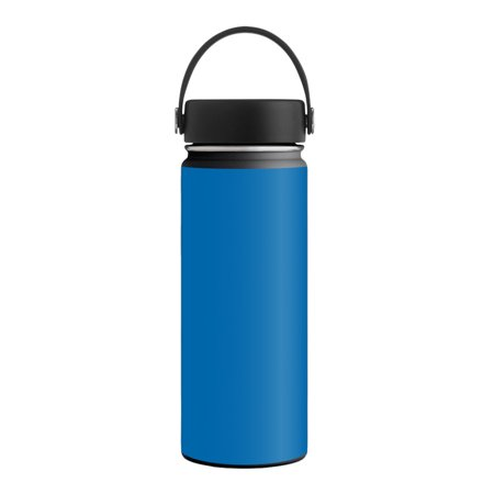 - MightySkins Skin for Hydro Flask 21 oz. Standard Mouth - Solid Baby Blue | Protective, Durable, and Unique Vinyl Decal wrap cover | Easy To Apply, Remove, and Change Styles | Made in the USA
