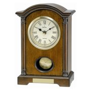 Bulova Dalton Walnut Mantel Clock