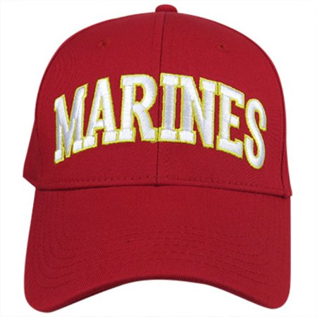 Covee FQ850 US Marines Baseball Cap Red