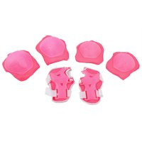 6PCS Outdoor Sport Skating Cycling Wrist Support Guard Elbow Knee Pads Set For Girl