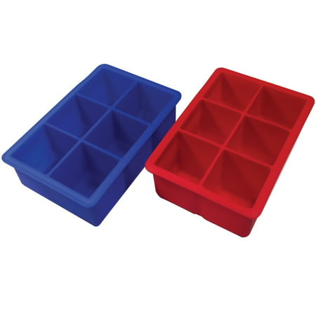 Better Kitchen Products, 2 pack, 6 Cavity Premium Silicone Large (2
