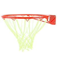 Crown Sporting Goods Glow-in-the-Dark White Nylon Basketball Net