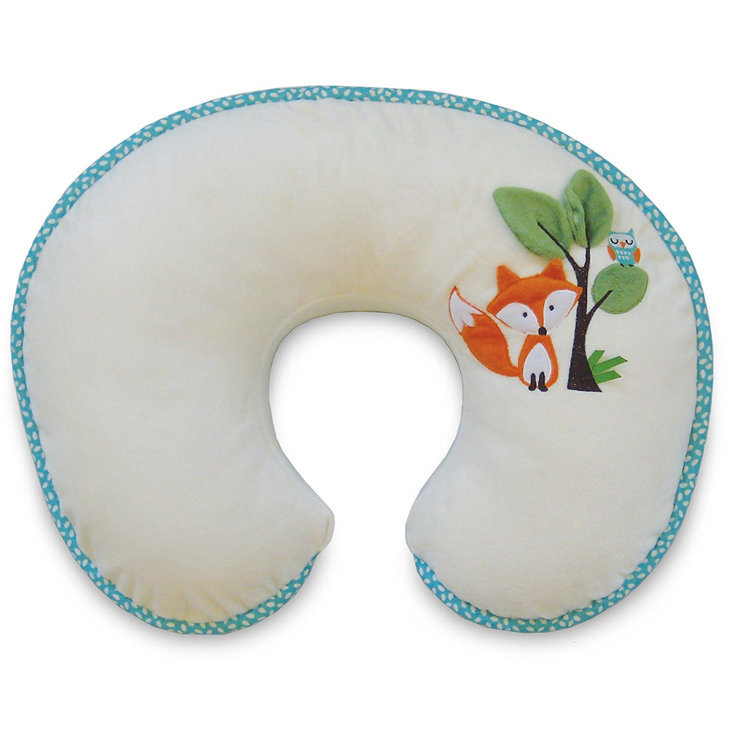 Nursing Pillow and Positioner, Luxe Fox and Owl, Ship from America by
