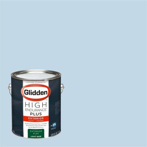 Glidden High Endurance Plus Exterior Paint And Primer Everclear Blue 01bb 69 098 Walmart Com Walmart Com