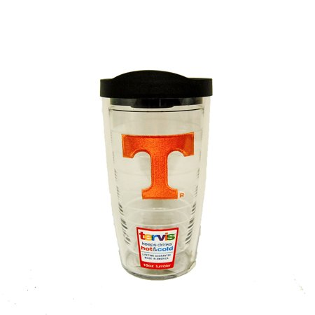 - Tennessee Volunteers-Shirtrs 16 oz Tumbler with Black Lid - Black