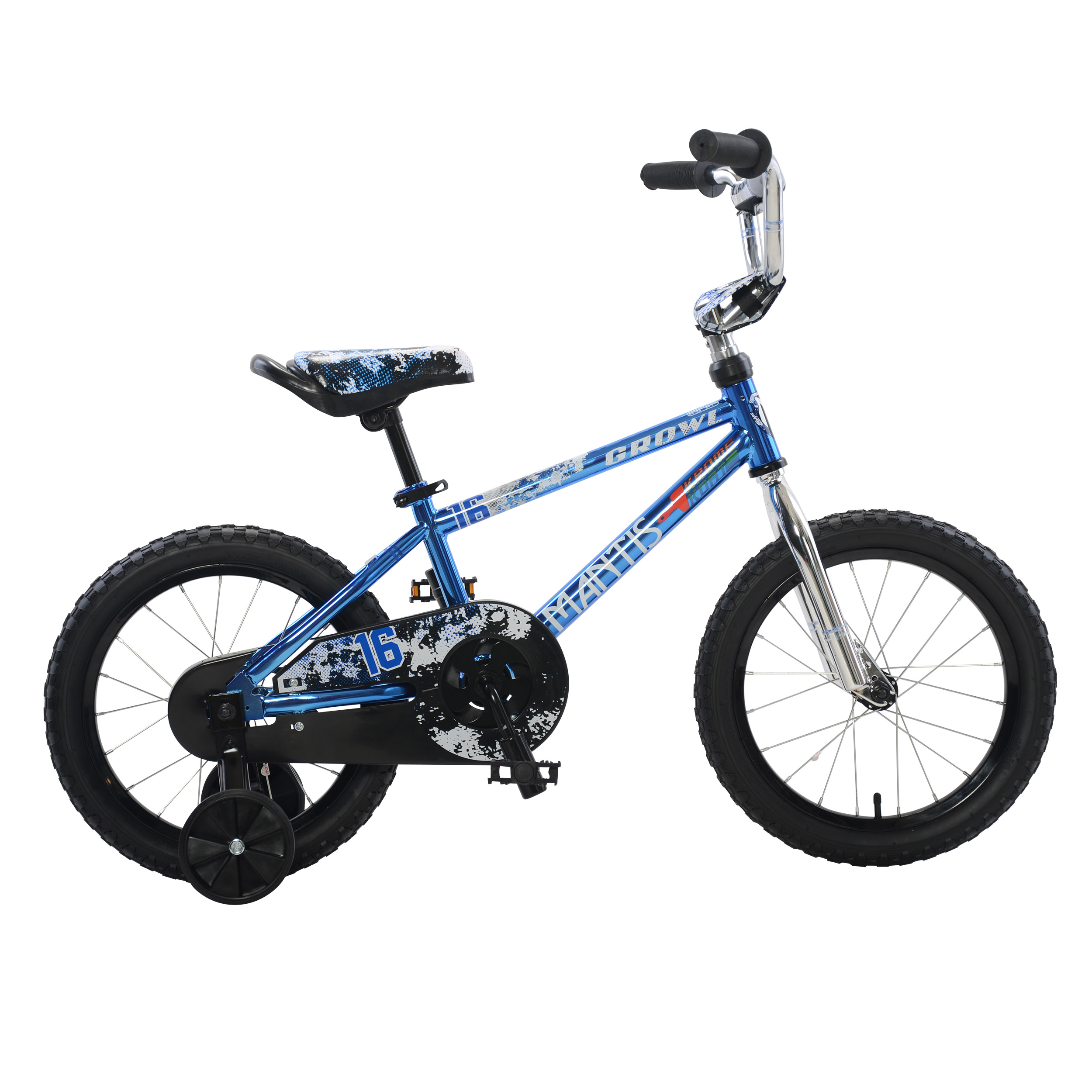Growl Blue Ready2Roll 16 inch Kids Bicycle by Mantis