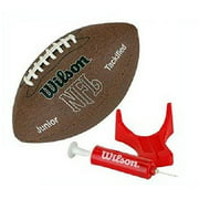 Wilson NFL MVP Jr. Football with Pump and Tee