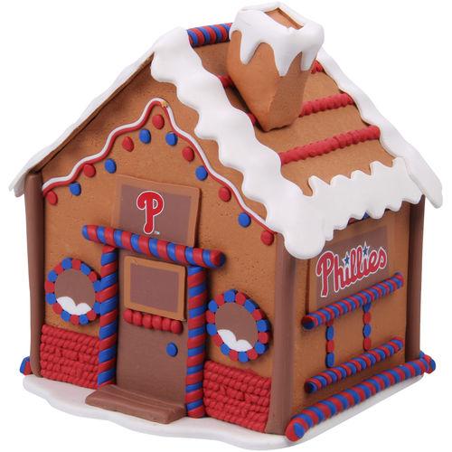 Philadelphia Phillies Gingerbread House