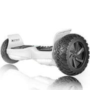 """XPRIT Heavy Duty All-Terrain HoverBoard with 8.5"""" Tires, Auto-Balance, Up to 9KM Range, Bluetooth, UL2272-Certified - Black"""