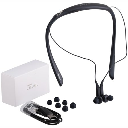 5f027dac0bc Samsung Level U Pro Bluetooth Wireless In-ear Headphones with Microphone  and UHQ Audio, Black - Walmart.com