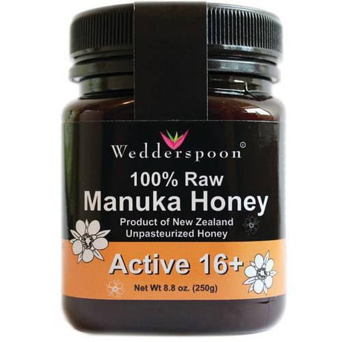 Wedderspoon manuka honey reviews