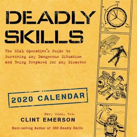 Best Wall Safes 2020 Deadly Skills 2020 Wall Calendar   Walmart.com