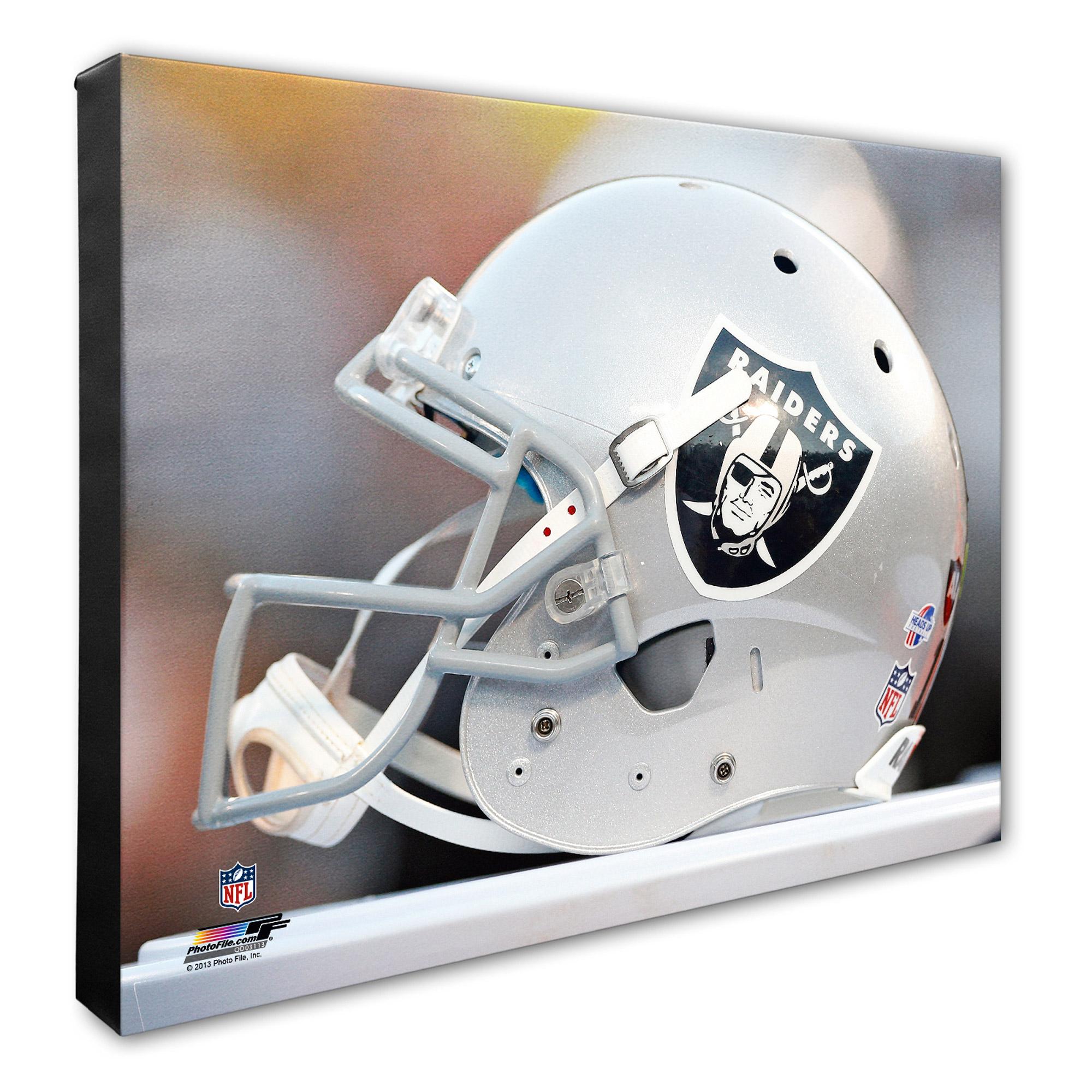 "Oakland Raiders 16"" x 20"" Helmet Photo - No Size"
