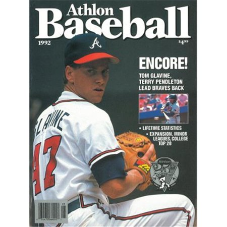 Athlon Ctbl 013052 Tom Glavine Unsigned Atlanta Braves Sports 1992 Mlb Baseball Preview Magazine