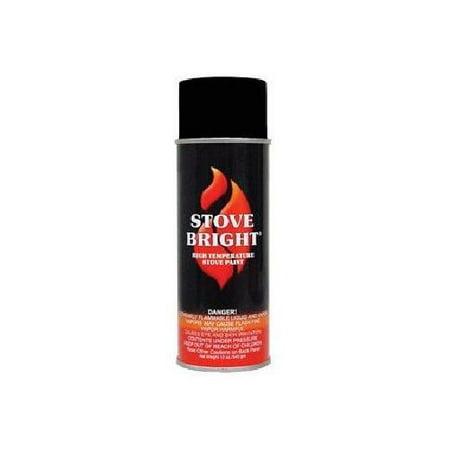 Stove Bright 1200 Degree High Temp Paint Rich Brown Metallic