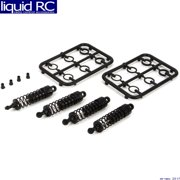 ECX 213000 Complete Shock Set: 1:18 4WD All