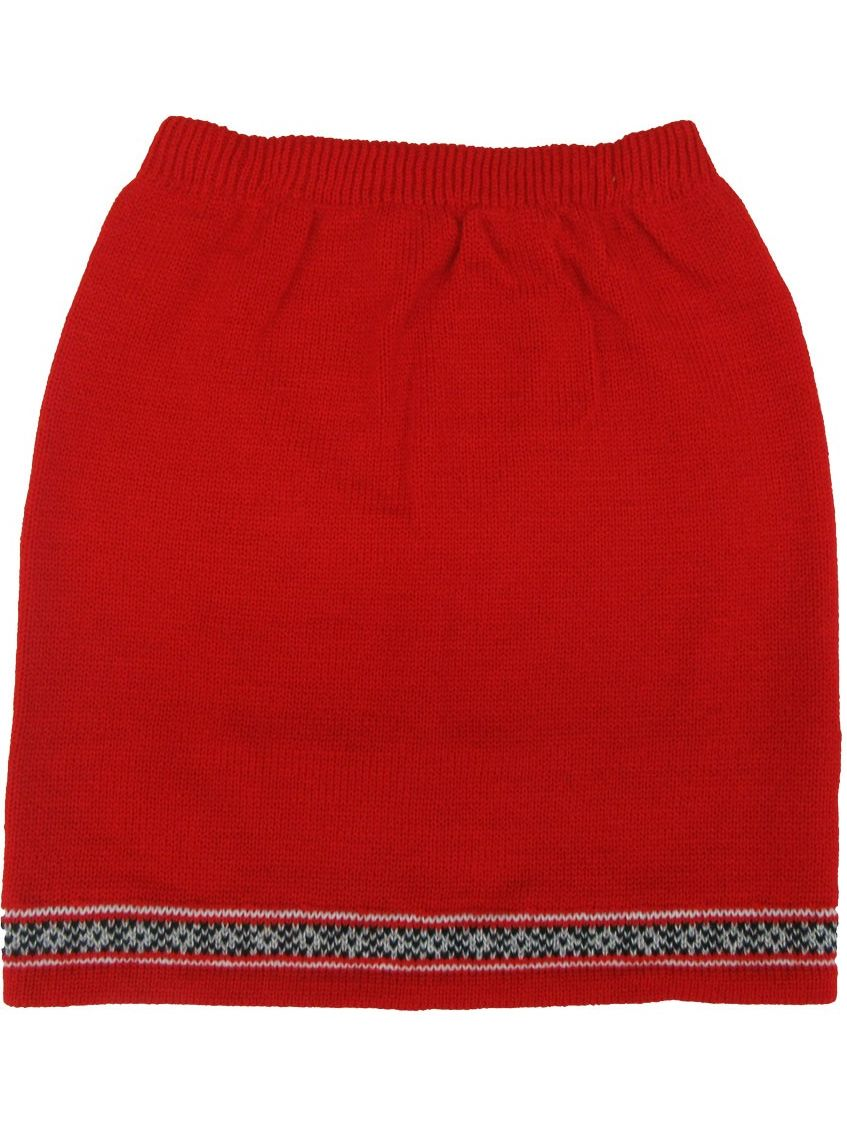 Disney Little Girls Red 101 Dalmatians Inspired Style Knitted Skirt