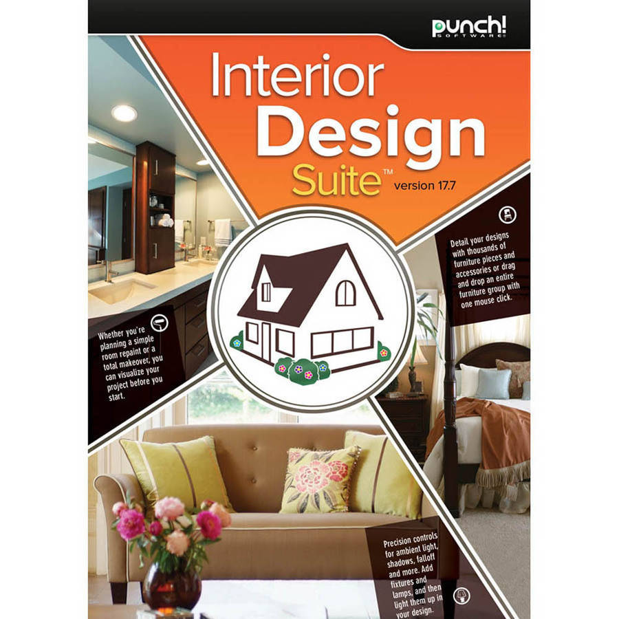 Encore Software LIC3920 Punch Interior Design Suite 17.7 (Digital Code)
