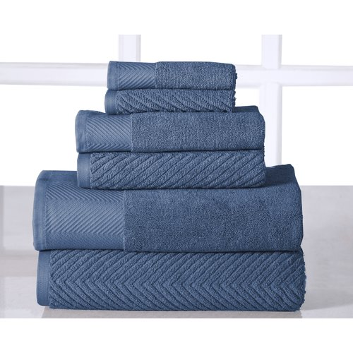 Affinity Linens Elegance Spa 100pct 6 Piece Towel Set