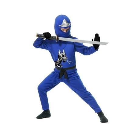 Halloween Ninja Avenger Series II Toddler Costume - Blue - Halloween Belle