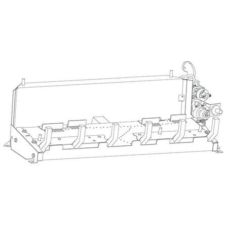 Vent Free Natural Gas Burner (White Mountain Hearth VFSR-30NAT 30