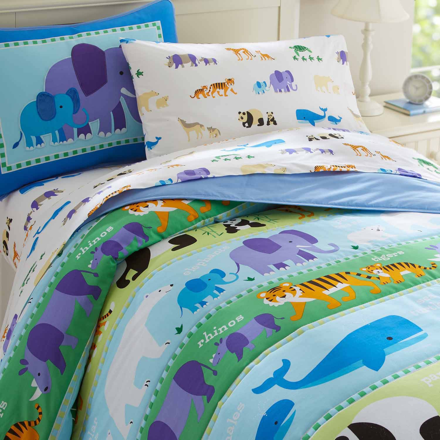Olive Kids Endangered Animals Comforter