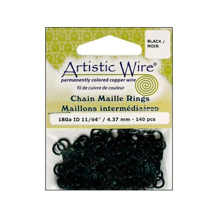 Chainmaille Rings (Art Wire Chain Maille Jump Rng 18ga 11/64