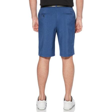 (Men's Performance Flat Front Active Flex Waistband Four Way Stretch Golf Short)